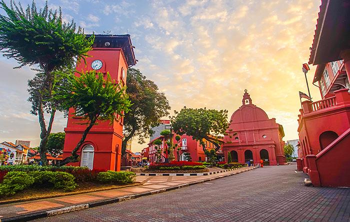 World Heritage listed Malacca Malaysia